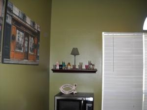 shot glass shelf before