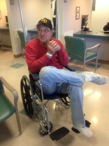 dad hospital